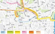 Guía del Jueves Santo en Granada: mapa de itinerarios, recorridos y horarios de las procesiones
