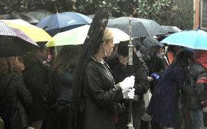 Persiste la inestabilidad del tiempo para el arranque de la Semana Santa en Granada