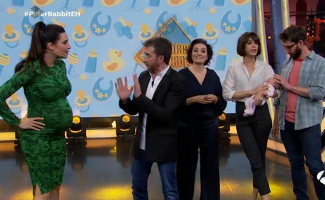 Pilar Rubio participa en 'El Hormiguero' habiendo dilatado un centímetro