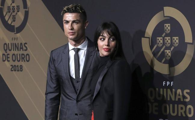 Cristiano Ronaldo y Georgina Rodríguez juntos en la Quina de Oro