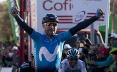 Alejandro Valverde, nuevo líder de la Volta a Catalunya