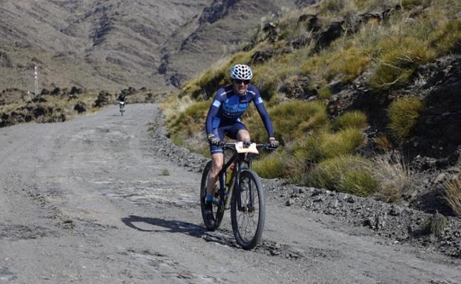 Manuel Beltrán finaliza tercero en la V BTT & Trail Tabernas Desert