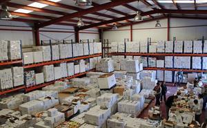 El Gobierno reparte más de 2.700 toneladas de alimentos en Almería