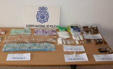 Desarticulan en Almería un grupo criminal que traficaba con cocaína y marihuana