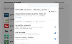 3 pasos para saber qué aplicaciones tienen acceso a tus datos de Facebook