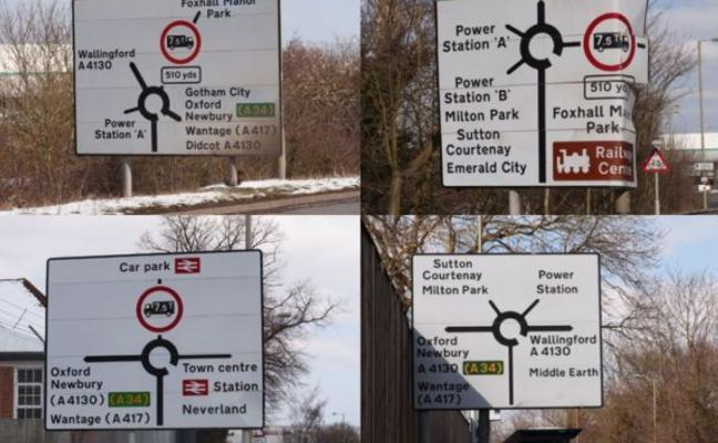 La señales de tráfico que maravillan al mundo: ¿qué tienen de especial?