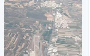 La impactante estampa desde el cielo del aeropuerto de Granada que revoluciona la Red