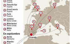 Arranca la temporada de verano en el Aeropuerto de Granada: Estas son todas las ciudades a las que podrás volar