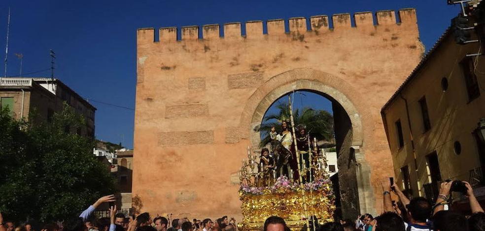 La lluvia va desapareciendo para la Semana Santa de Granada y llega un 'subidón' de temperaturas