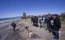 Diputación exige espigones en la Costa de Granada como solución definitiva contra los temporales