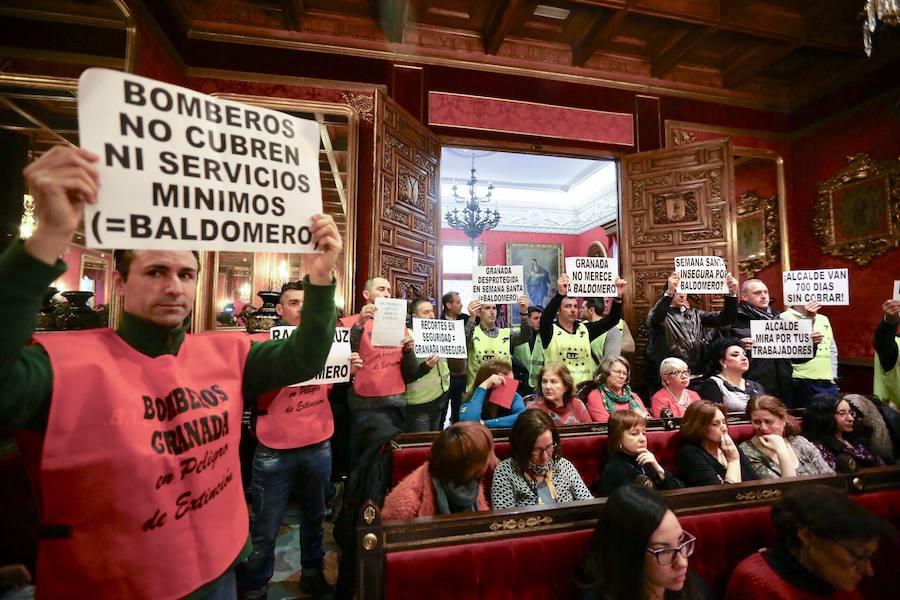 Pleno de marzo del Ayuntamiento de Granada
