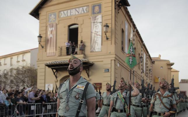 La Legión, fiel con la tradición de Semana Santa