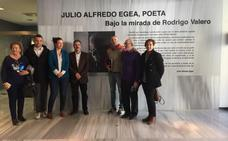 Fotografías de Rodrigo Valero sobre Julio Alfredo Egea en el Arqueológico