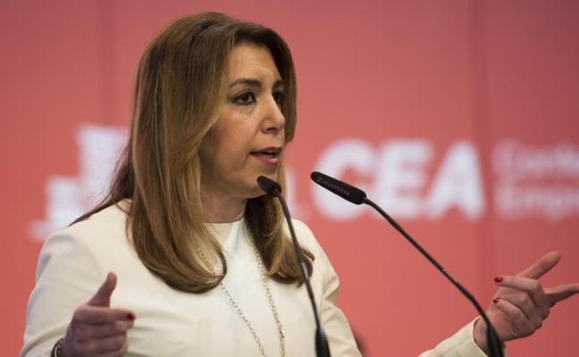 """Susana Díaz no tiene """"ni un minuto"""" para pensar en las políticas del PSOE porque """"no me interesa nada de nada"""""""
