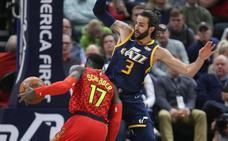 Ricky lleva a los Jazz a la victoria y Willy es titular con los Hornets