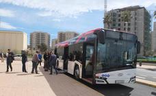 El autobús de La Cañada llegará de nuevo a El Toyo en un vehículo de última generación