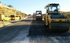 Diputación culmina las obras de mejora del acceso a Partaloa por la Avenida de Andalucía