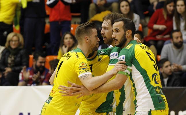 El Jaén Paraíso Interior Fútbol Sala no se regocija en el éxito