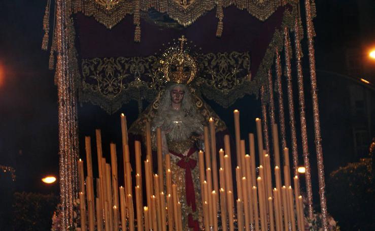 Oliveros recibe con Pasión el Lunes Santo de Almería