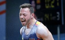 Josué Brachi hace historia al proclamarse campeón de Europa en el total olímpico
