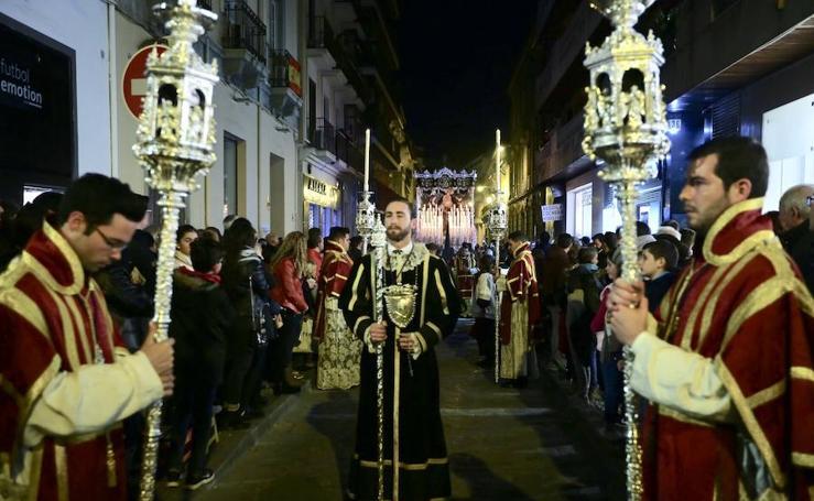 San Agustín brilla en la noche del Lunes Santo