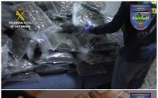 """Desarticulada en Granada una """"peligrosa"""" organización de tráfico internacional de marihuana con 18 detenidos"""
