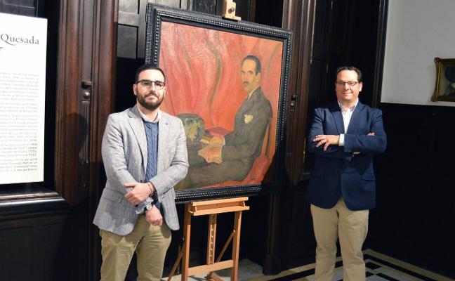 Un cuadro de Cristóbal González Quesada, obra invitada en Doña Pakyta