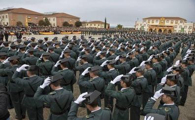 La Academia de la Guardia Civil de Baeza recupera el próximo curso los más de 2.000 alumnos