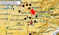 Un pequeño terremoto se deja notar en Granada y en el área metropolitana