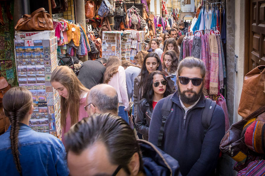 Granada, a reventar por Semana Santa