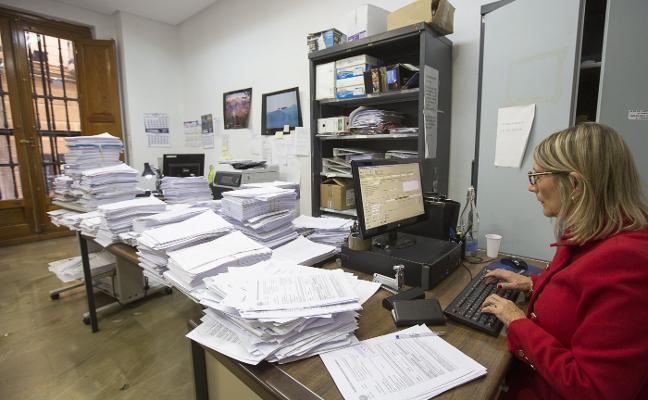 Los 25 juzgados de Granada más saturados recibieron el año pasado 43.000 casos nuevos