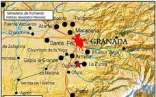Un segundo terremoto, también de 2,3 grados, alerta a Granada
