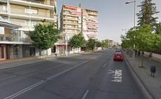 Seis personas heridas al chocar un turismo y un taxi en la Avenida de América de Granada