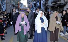 La Hermandad del Santísimo Sacramento y Santo Entierro procesionó el Viernes Santo en Lanjarón