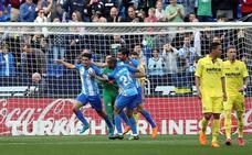 El Málaga rompe su mala racha