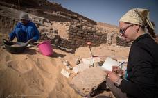 La UJA realiza un modelo tridimensional de tumbas de la necrópolis de Qubbet el-Hawa