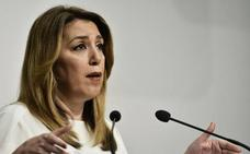 """Susana Díaz califica de """"atropello"""" a Andalucía las inversiones de los PGE"""