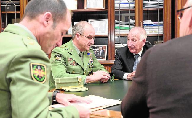 Diputación prevendrá a los legionarios sobre Drogodependencias
