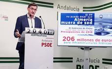 El PSOE dice que la inversión en Almería en los Presupuestos es «una burla»