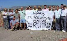 Los regantes demandan a Fomento por las obras en la GR-43