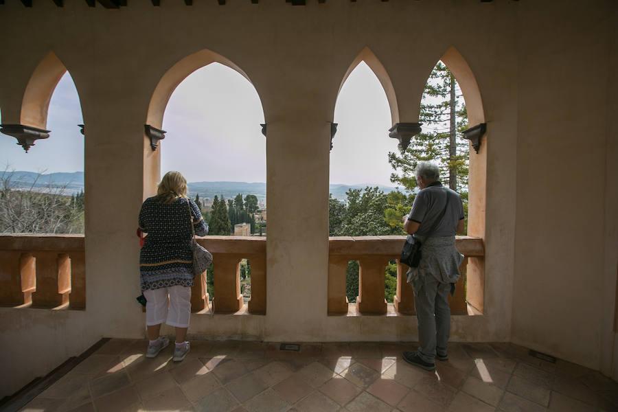 Las hermosas panorámicas de un mirador poco conocido de la Alhambra
