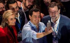 Juanma Moreno insiste en su apuesta de gobernar con el apoyo de Cs