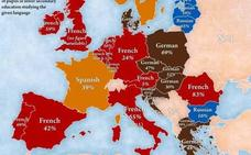 Más allá del inglés: el mapa de la segunda lengua más estudiada en Europa
