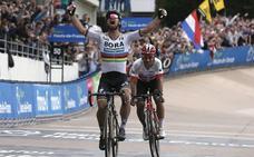 Peter Sagan gana la París-Roubaix