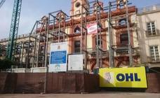 La empresa de la Plaza Vieja pide otra vez más tiempo para acabar las obras