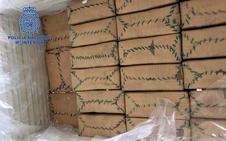 Interceptan en Almería un tráiler con ocho toneladas de hachís