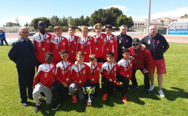 La selección provincial alevín de Almería logra el 'bronce' en el campeonato de Andalucía