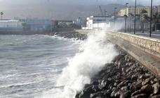 Aviso amarillo hoy en Almería por vientos y fenómenos costeros