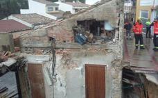 Se derrumba otra infravivienda en Jaén capital