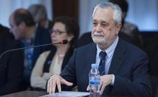 Griñán considera «discutible y censurable» la gestión de las ayudas de la Consejería de Empleo
